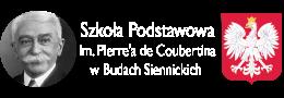 Logo szkoły z godłem Polski